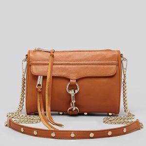 Rebecca Minkoff Mini Mac Crossbody Bag Almond
